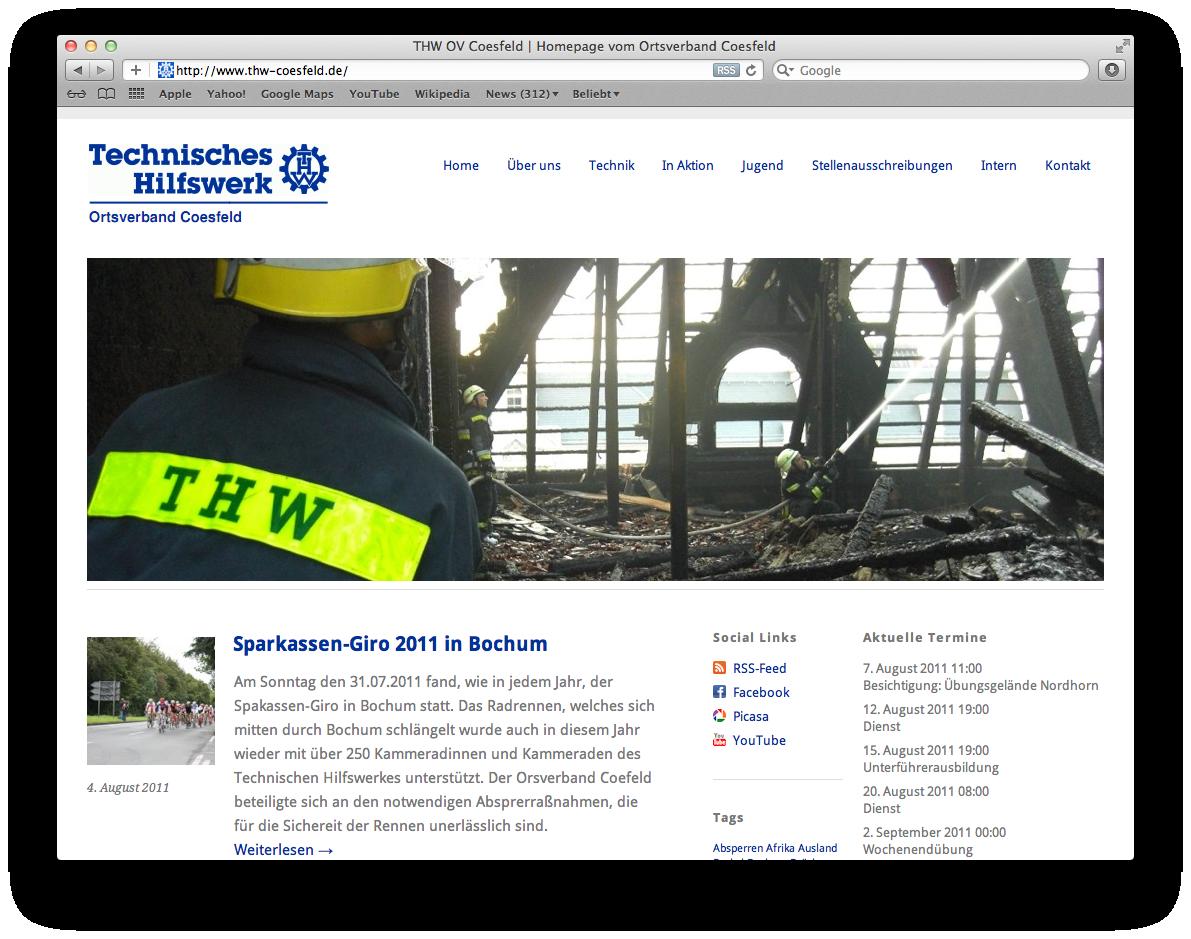 OV Coesfeld Homepage
