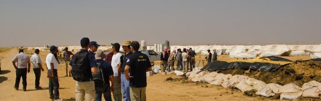 Syrienkrise: Zeltstadt in Jordanien eröffnet
