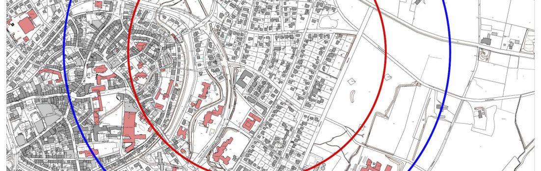 Coesfeld, Drachters Weg / Informationen zur geplanten Fliegerbombenentschärfung