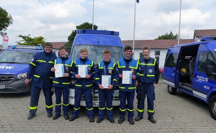 Abnahme des Leistungsabzeichen der THW-Jugend 4 neue Leistungsabzeichenträger für die THW-Jugend Ortsverband Coesfeld Am…