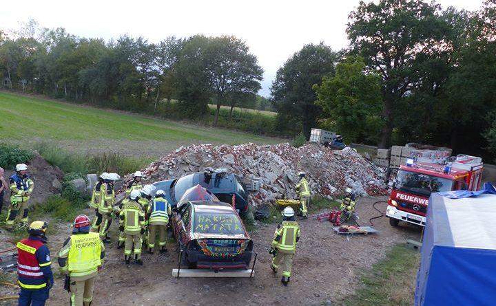 Am vergangenen Montagabend () trafen sich der Löschzug 2 der Feuerwehr Coesfeld und unser…