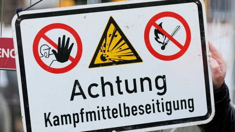 Weltkriegsbombenverdacht in Coesfeld bestätigt!